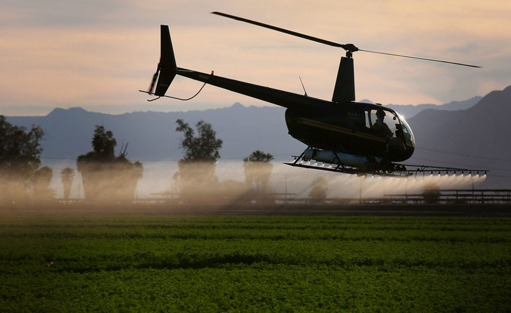 In California's Farm Country, Climate Change Is Likely to Trigger More Pesticide Use, Fouling Waterways